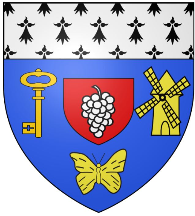 герб муниципалитета Монньер (Пеи-де-ла-Луар, Франция)