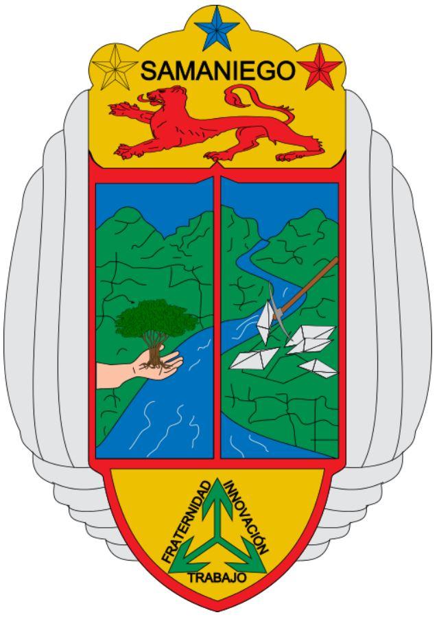 герб муниципалитета Саманиего (Колумбия)