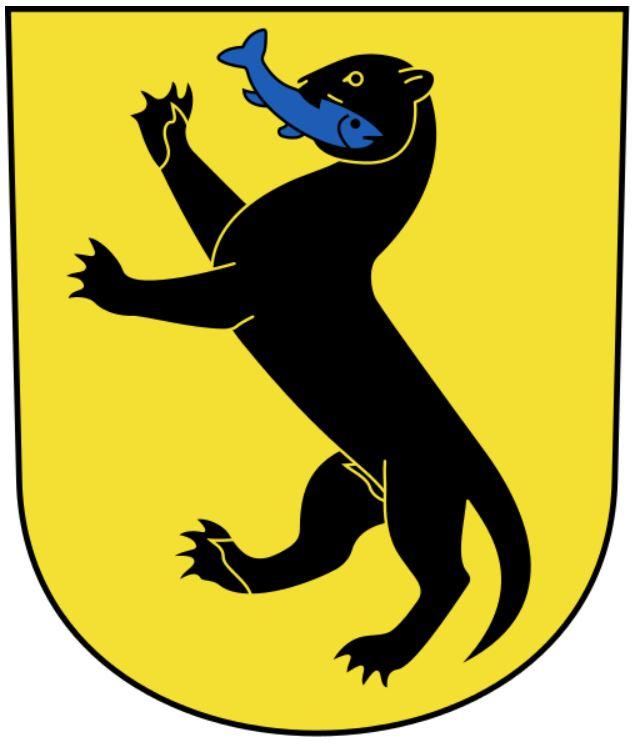 герб коммуны Меннедорф (Цюрих, Швейцария)