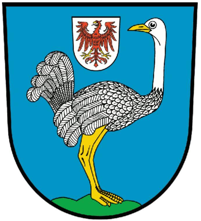 герб города Штраусберг (Германия)