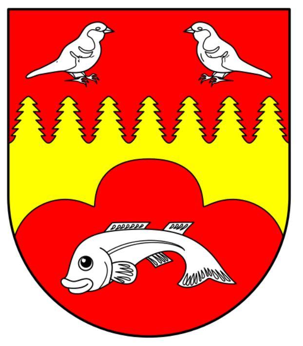 герб коммуны Добин-ам-Зе (Германия)