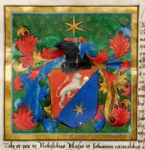 oroszlán.Nagylucsei_címer,_1480