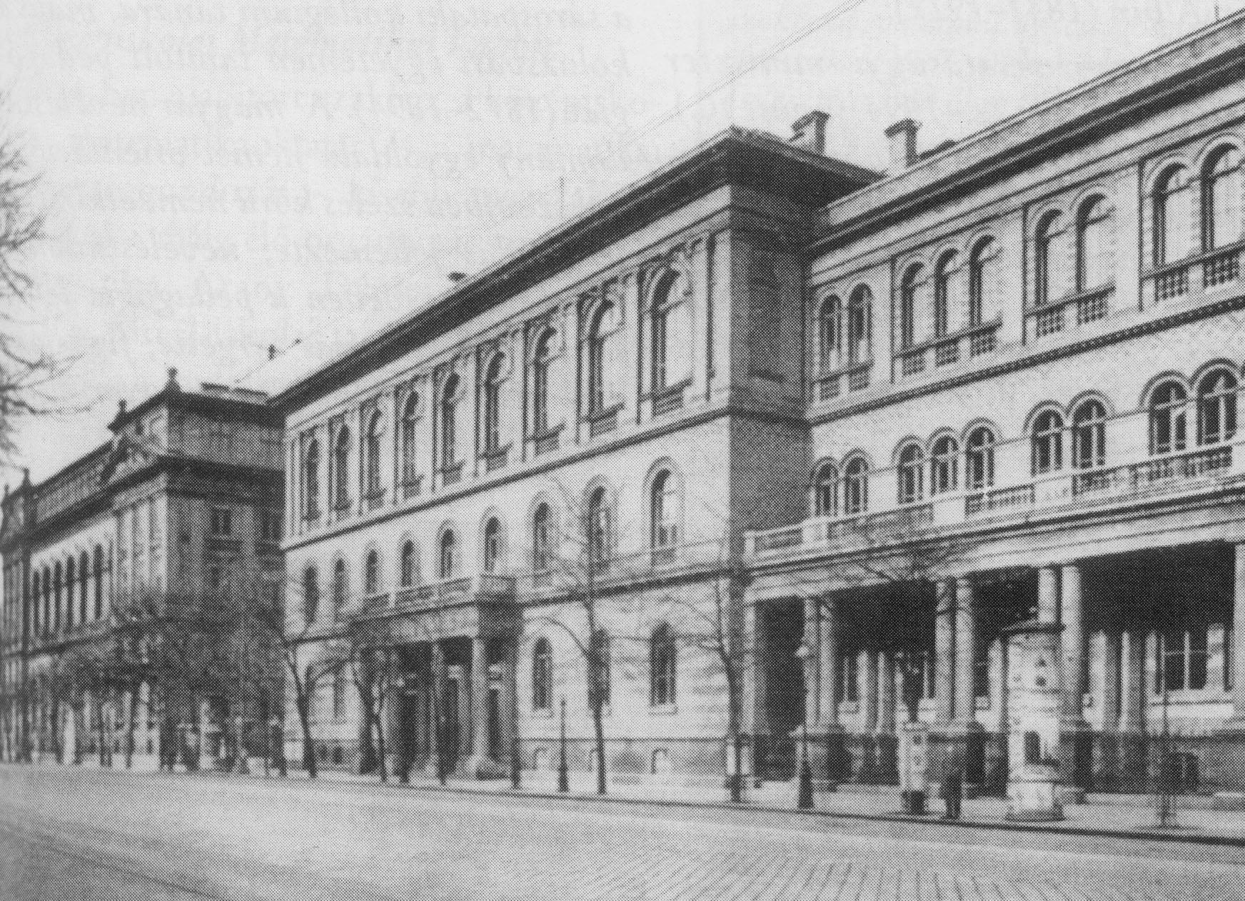 A Műegyetem Múzeum körúti épülete 7998fccc30