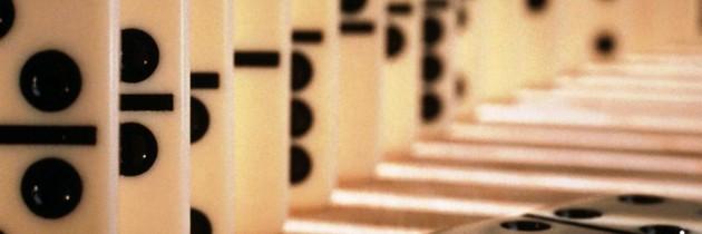 Szórakoztató matematika, a dominó matematikája