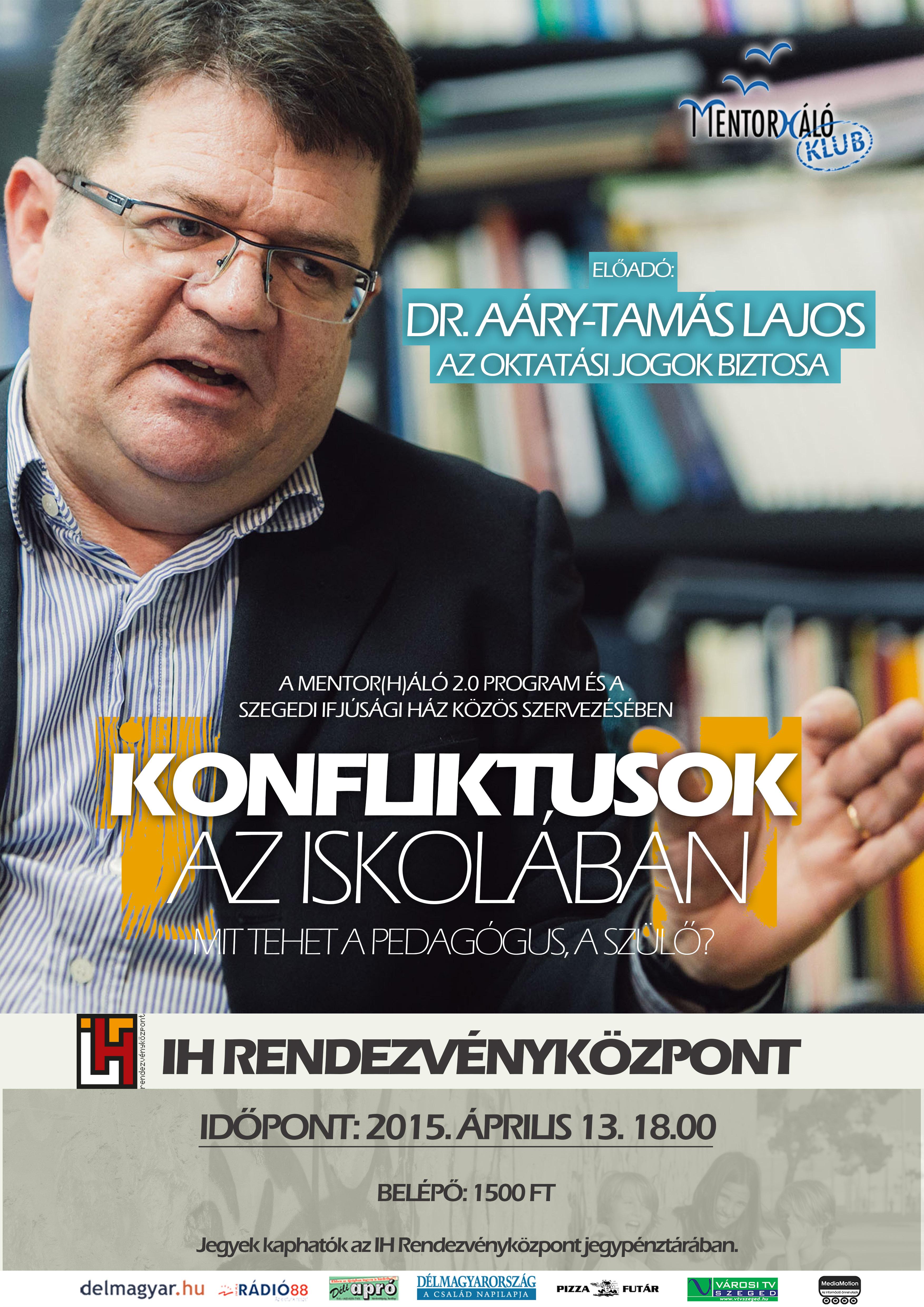Aáry-Tamás Lajos plakát
