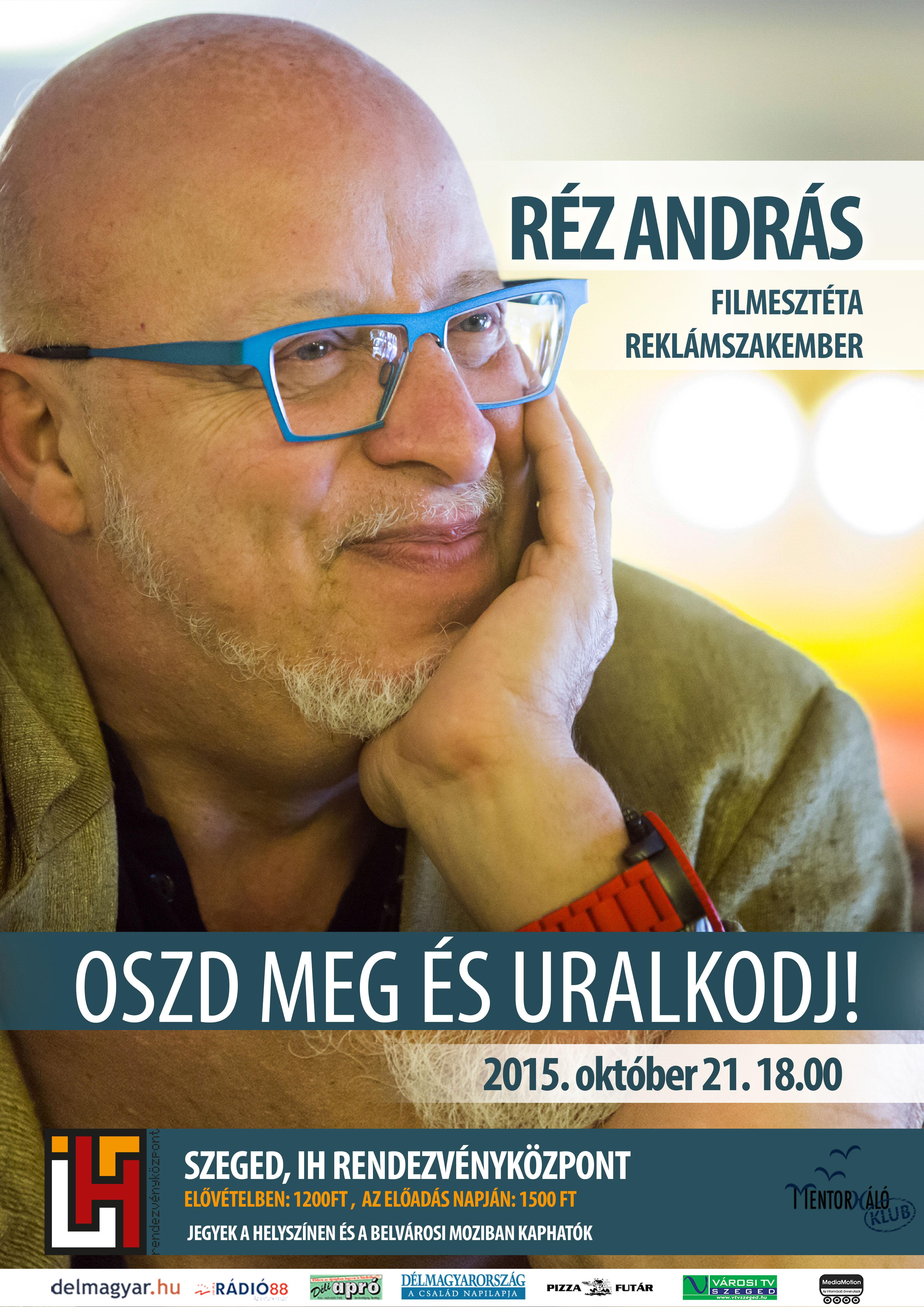 Réz András plakát