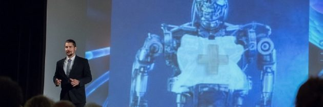 Nagyszerű előadás a velünk élő robotokról