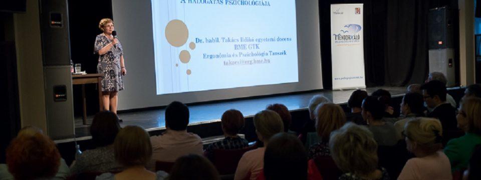 A halogatás pszichológiája – dr. Takács Ildikó előadása