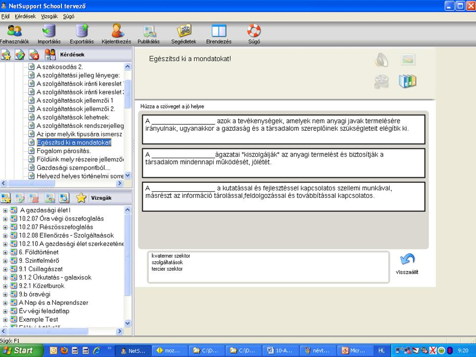 5. kép Legördülő listás feladat b91dade243