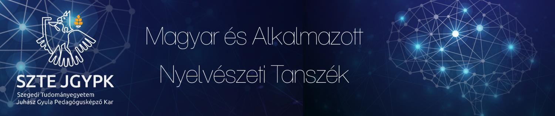 Magyar és Alkalmazott Nyelvészeti Tanszék